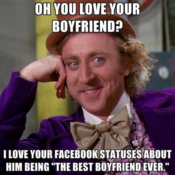 О, ты любишь своего парня