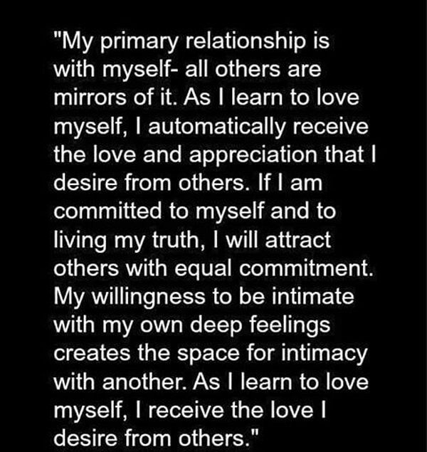 Вдохновляющие цитаты о любви к себе