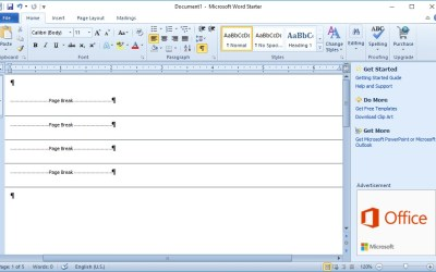How To Remove Page Breaks in Word