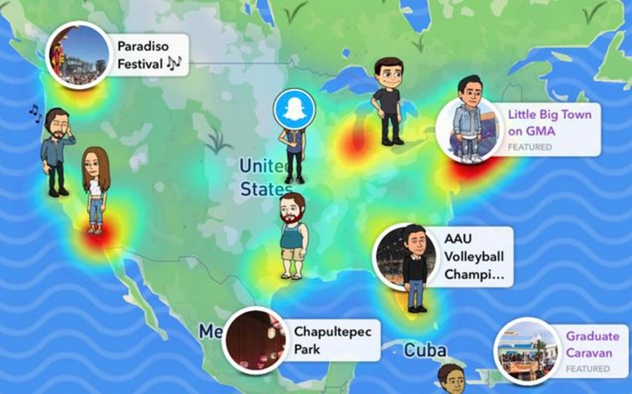 How to get the friends map on snapchat