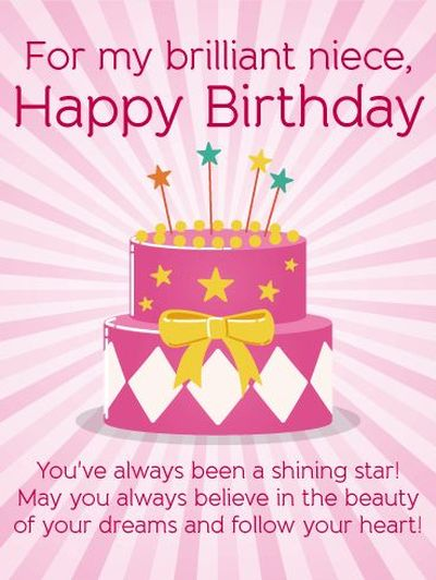 Best Happy Birthday Niece Quotes and Images