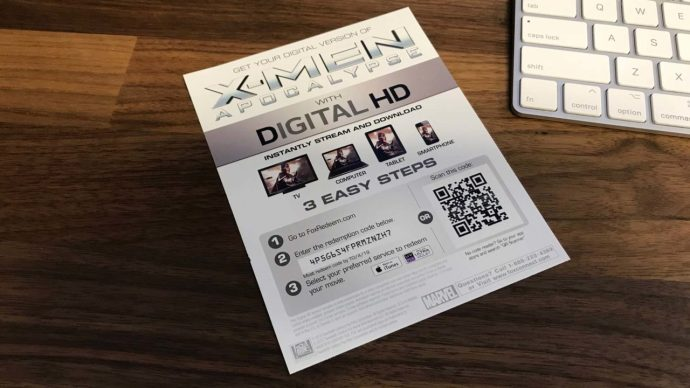 xmen digital code