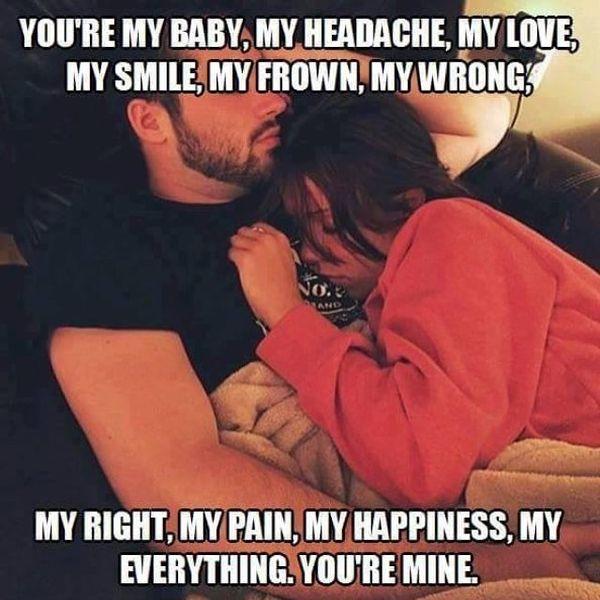 Exquisite couples sleeping meme