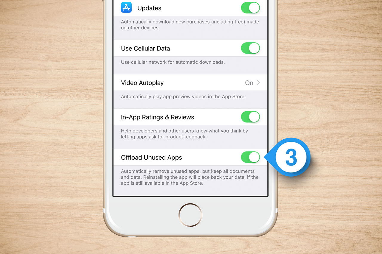 iOS 11: Automatically Offload Unused Apps to Free Up Space
