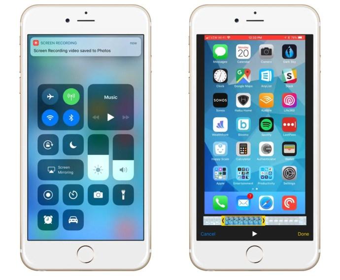 save iphone screen recording