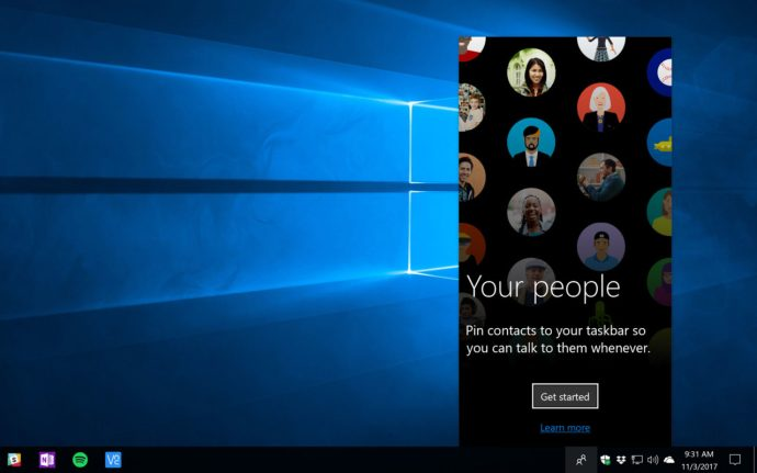 windows 10 people