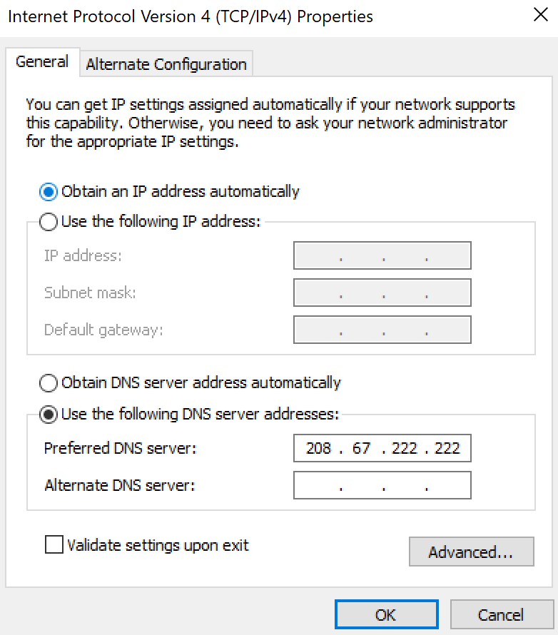 what is an open dns server