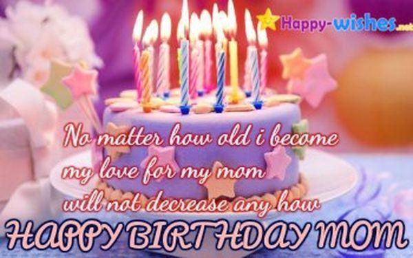 Emotional happy birthday meme for your mom
