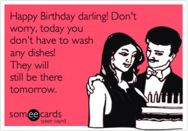 Nice Happy Birthday Meme With Humor for Wife