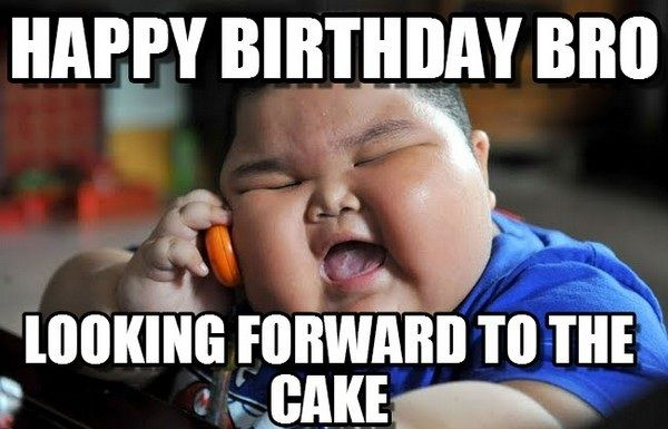 Best Cute Happy Birthday Meme Devoted to Brother