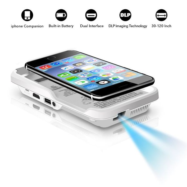 Mini Portable Projector for iPhone