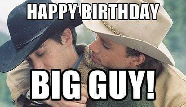 Best Cool Happy Birthday Meme for Gay