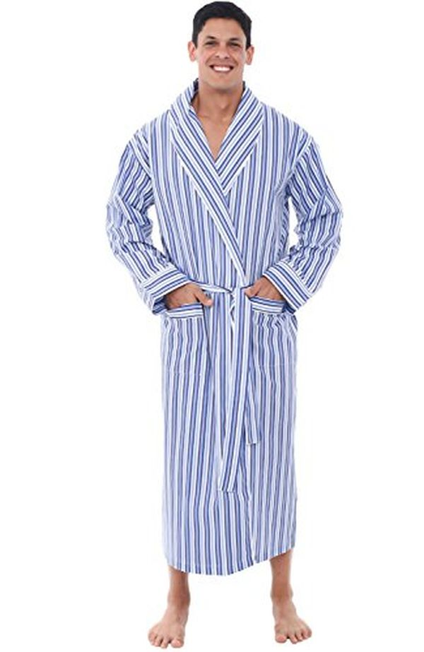Long Cotton Bathrobe