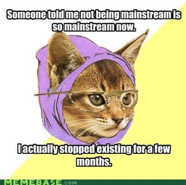 Colorful Cat Facts Meme