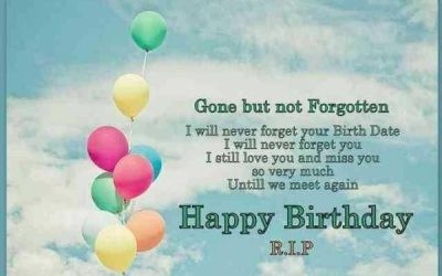 Happy Birthday Quotes and Images to Someone in Heaven