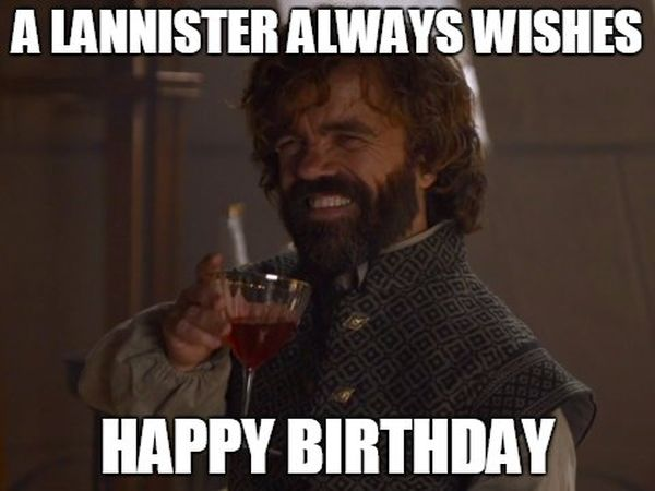 Photos of Game of Thrones to Congratulate on Your Birthday
