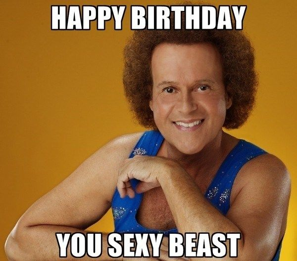 Best happy birthday meme with a sexy meaning