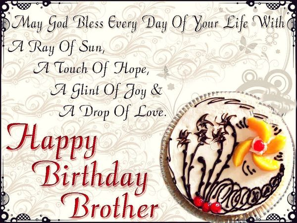 Happy Birthday Brother Cute Images