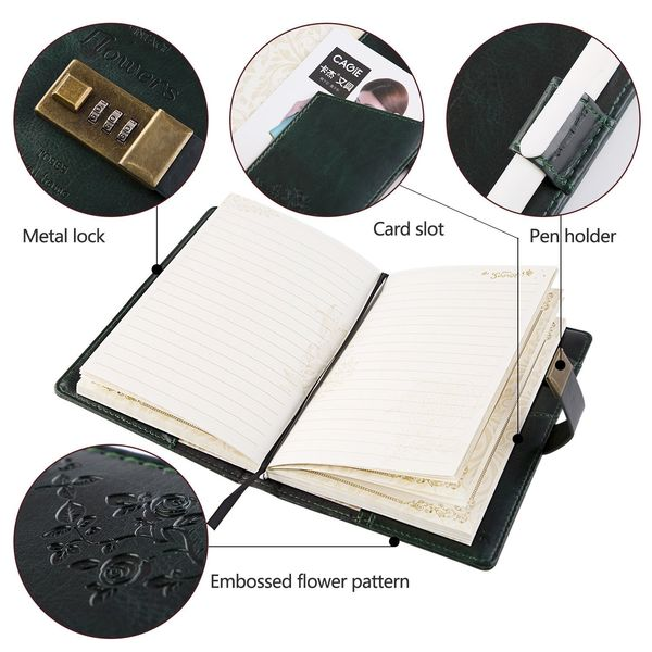 Lock Classic Writing Notebook