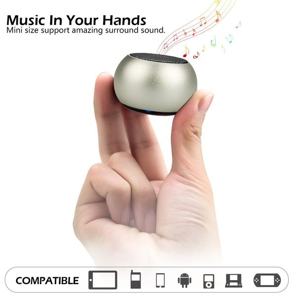 LONGET Mini Bluetooth Speaker