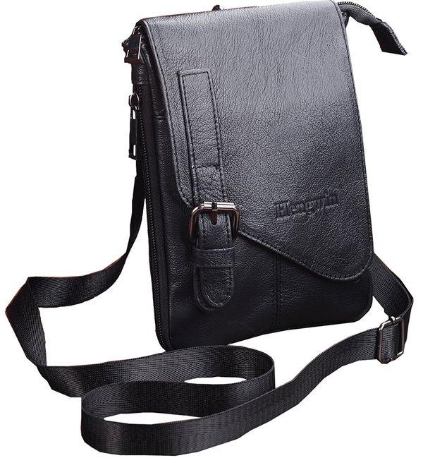 Vertical Small Crossbody Messenger Bag