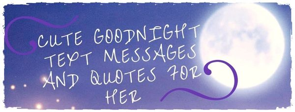 Sexy good night text messages