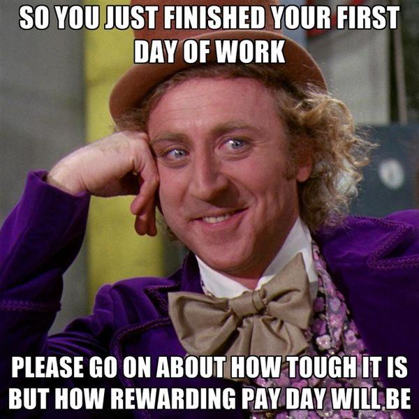 Модный мем о завершении работы