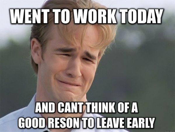 Чудесный мем об уходе с работы в отпуск