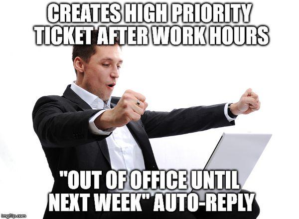Фантастический мем об уходе из офиса