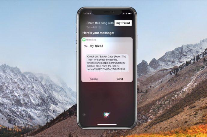 Sharing Song with Siri