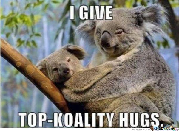 Unbelievable funny hug images