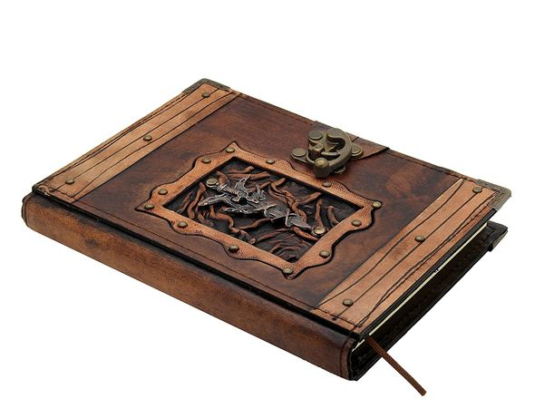 Dragon Sword Leather Writing Notebook