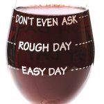 Funny Guy Mugs Measuring Wine Glass