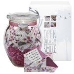 Glass KindNotes Keepsake Gift Jar of Messages