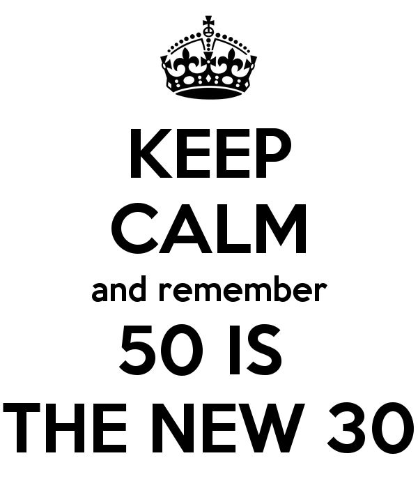 Congratulations on her 50th birthday for her 4