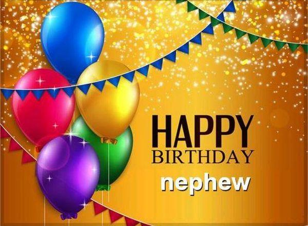 Festive Happy Birthday Nephew Images