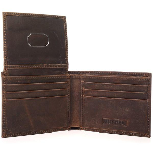 RFID Blocking Full Leather Citadel Wallet