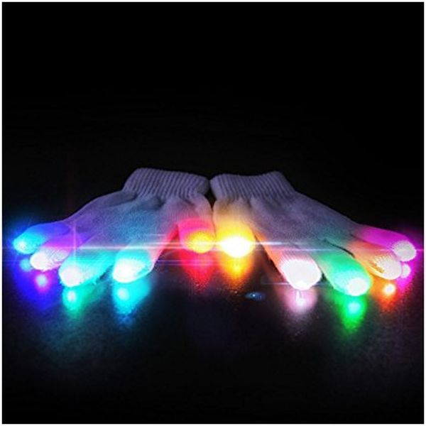 CTRL LED Gloves - bright gift for 11 year old girl