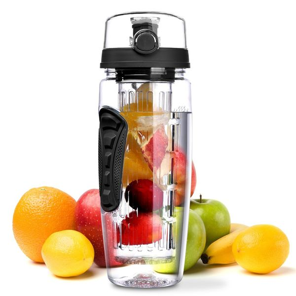 OMorc 32oz900ml Sport Fruit Infuser Water Bottle
