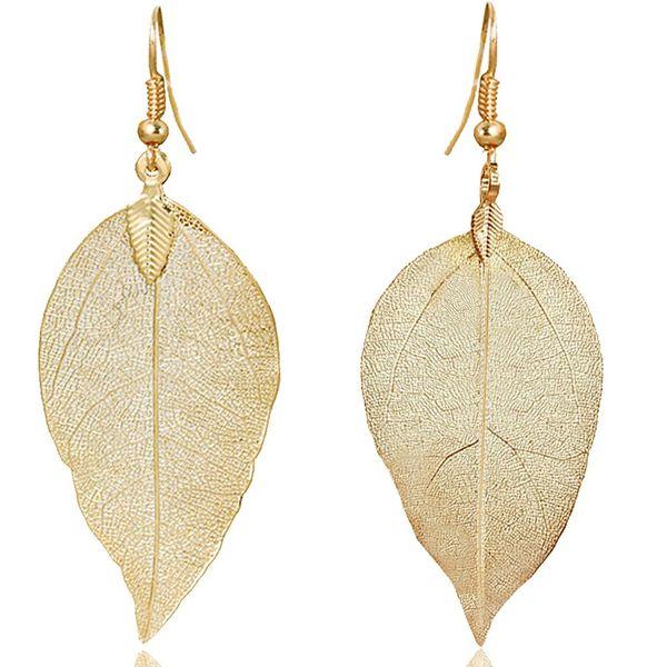 ZSE Jewelry Leaf Earrings