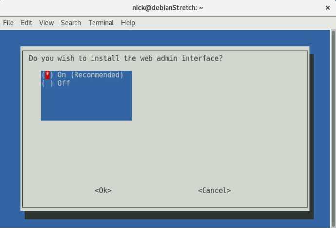 Pi Hole Enable Web Interface