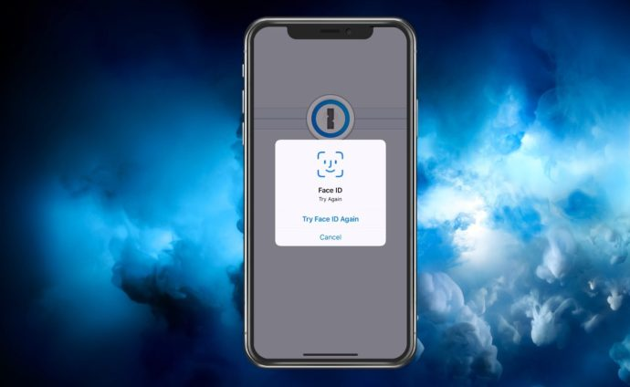 1Password's Unlocking Screen