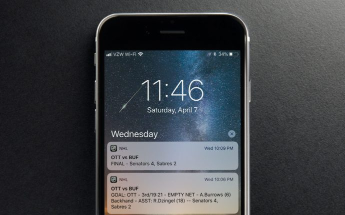 iphone clear notifications
