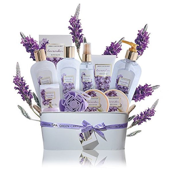 11-Pieces Premium Spa Gift Set (Lavender)