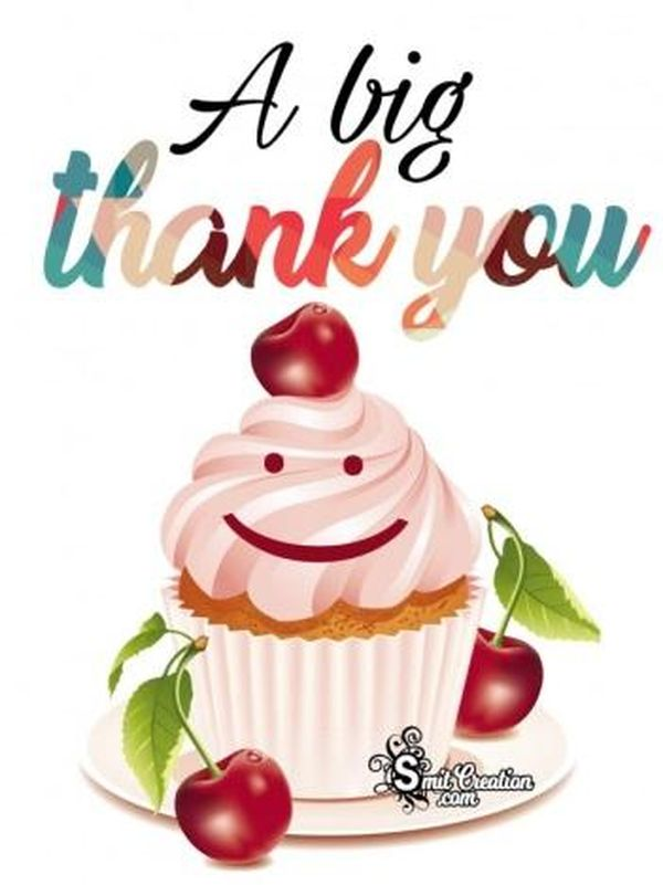 Cool Bright Pictures for Big Thank You