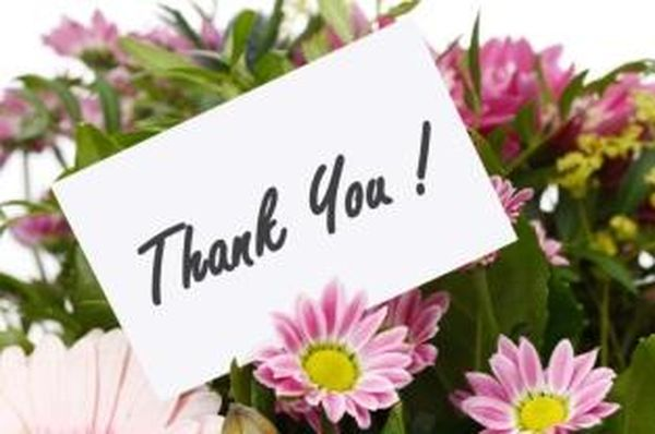 Best Colorful Thank You Images with Flowers