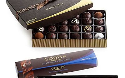Dark Chocolate Truffle Lover's Holiday Gift Set