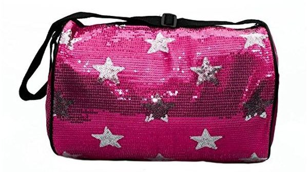 Girls Dance Duffle Sequin Star Bag