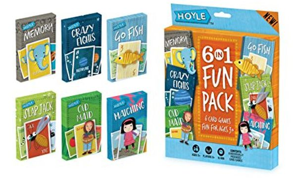 Hoyle Kid's 6 in 1 Fun Pack