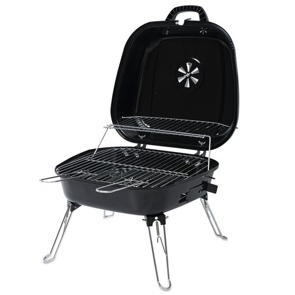 ISUMER Portable Charcoal BBQ Grill